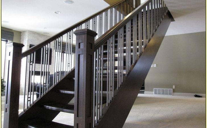 Contemporary Stair Railing Interior