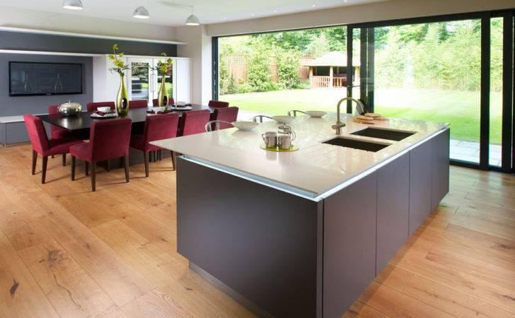 Contempory Modern Kitchen Diner Architectural Interiors