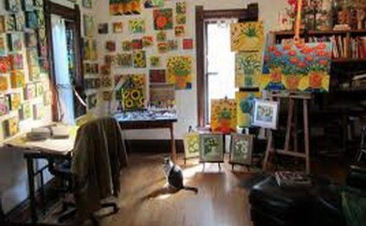 Contenporary Art Studio Decorating Ideas Home Interior Design