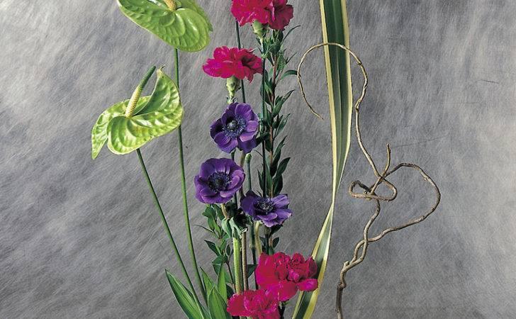 Contentment Flower Arrangements Ikebana Tropical Contemporary