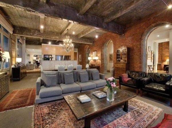 Converted Warehouse Melbourne Home Life Living Spaces Ideas