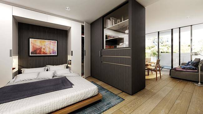 Convertible Apartment Bedroom Mode Rothelowman