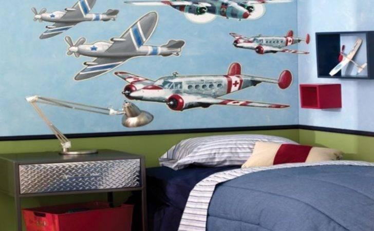 Cool Airplane Themed Bedroom Ideas Boys Rilane