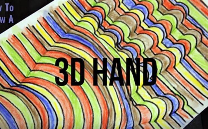 Cool Art Idea Draw Hand Tutorial Kids