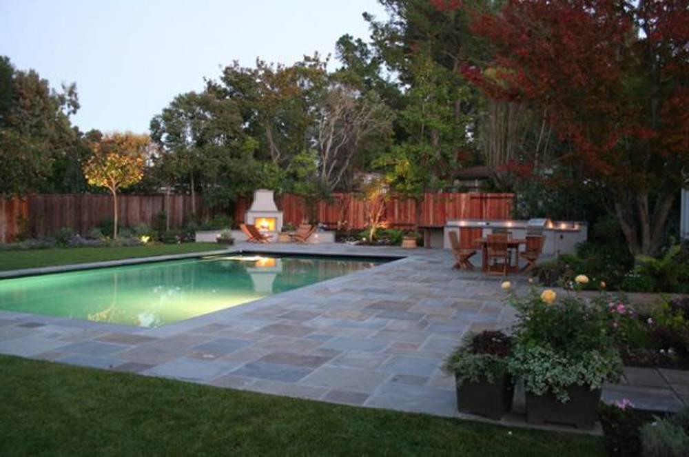 Cool Backyard Pool Design Interior Architecture