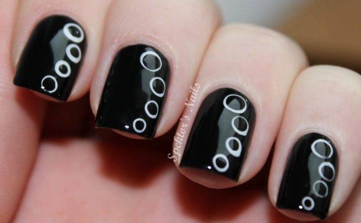 Cool Black Nail Art Designs Trendy Girls