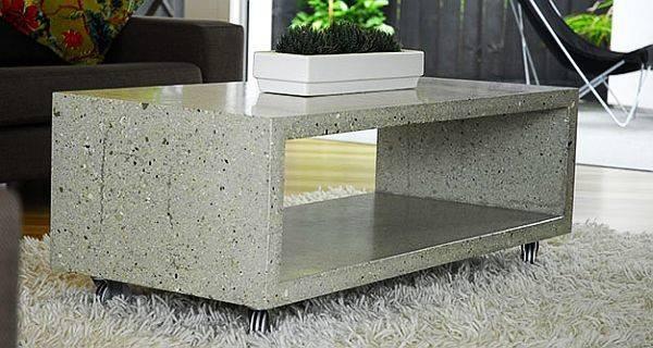 Cool Cold Modern Concrete Steel Chair Designs