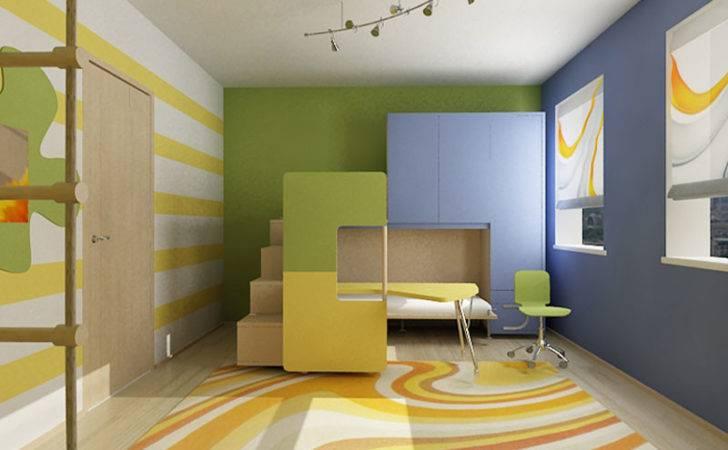 Cool Colorful Kids Room Ideas Bedroom Design Interior