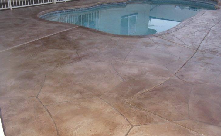 Cool Colors Concrete Pool Deck Jpeg