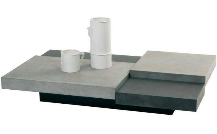 Cool Concrete Coffee Table