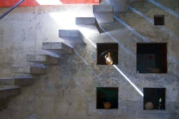 Cool Concrete Staircase