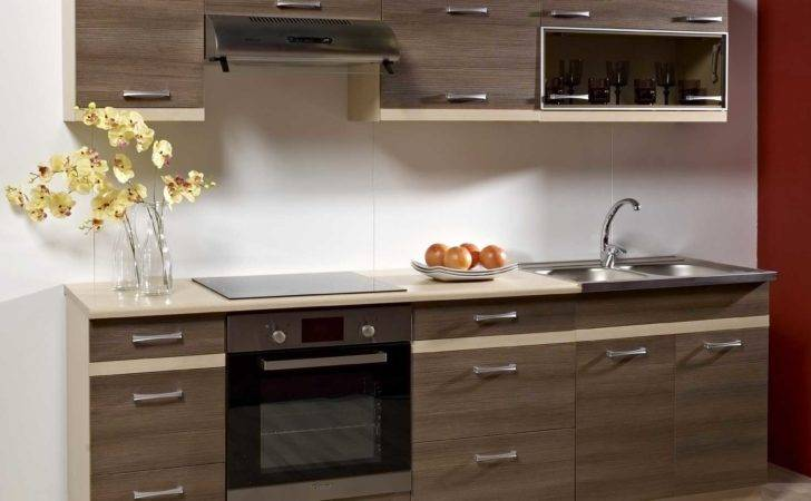 Cool Contemporary Brown Kitchen Cabinet Island