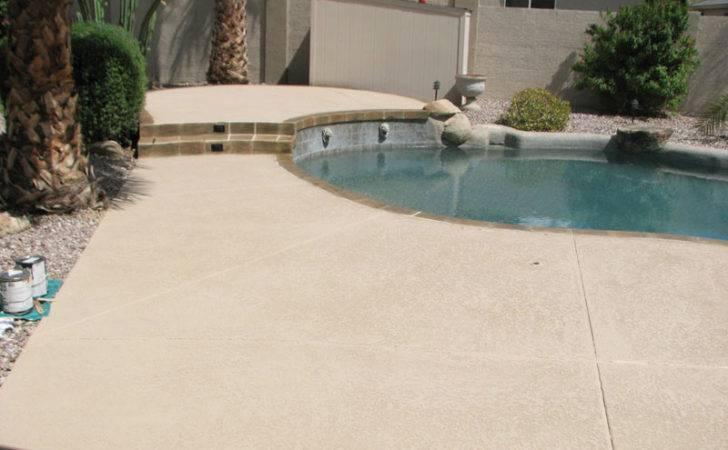 Cool Deck Backyard Pool Plaster Sledge Concrete Coatings