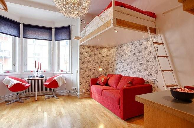 Cool Design Inspiration Small Studio Apartment