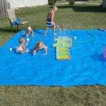 Cool Diy Splash Pad Your Little Ones Outdoor Swim Party