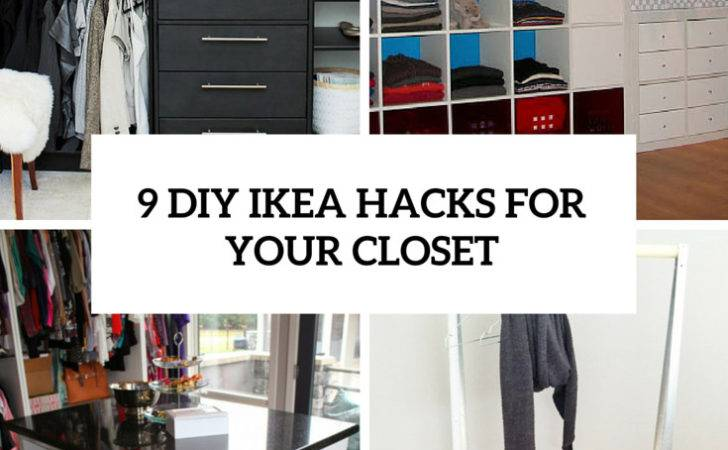 Cool Easy Diy Ikea Hacks Your Closet Shelterness