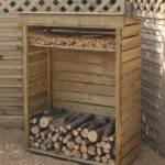 Cool Firewood Storage Bedroom Design Models