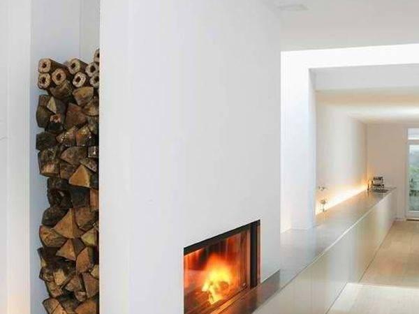 Cool Firewood Storage Designs Modern Homes
