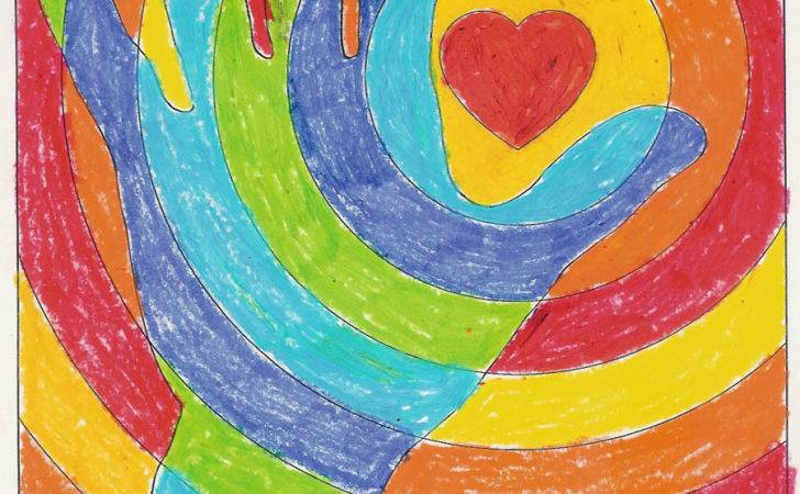 Cool Hands Warm Heart Art Projects Kids