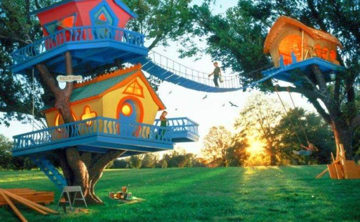 Cool Kids Tree House Design