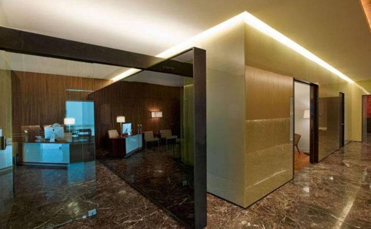 Cool Modern Office Design Wooden Material