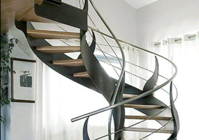 Cool Modern Spiral Staircase Stairs Stairways Steps Pinterest
