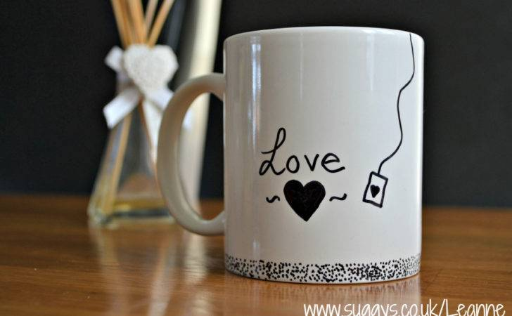 Cool Mug Designs Diy Sharpie Marker Pen Design