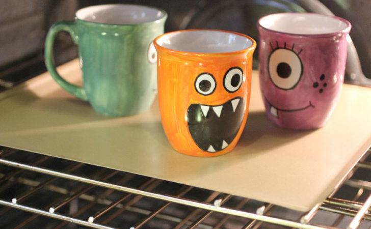 Cool Mug Painting Designs Diy Monster Mugs Repeat Crafter Bloglovin