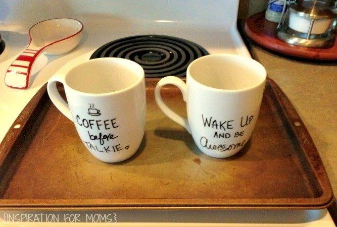Cool Oven Door Open Your Stylish Mugs Now Ready