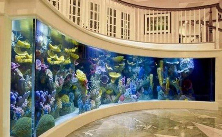 Cool Room Wall Aquarium Decoration Ideas