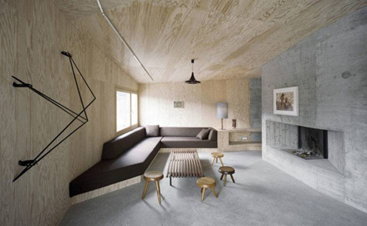 Cool Solid Concrete House Architecture Minimalist Proffer Peaceful