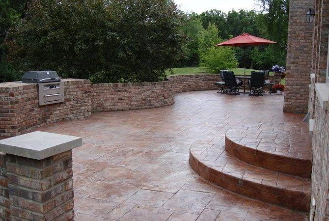 Cool Stamped Concrete Patio Ideas Your Garden