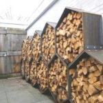 Cool Wood Storage Firewood Hoarders Club