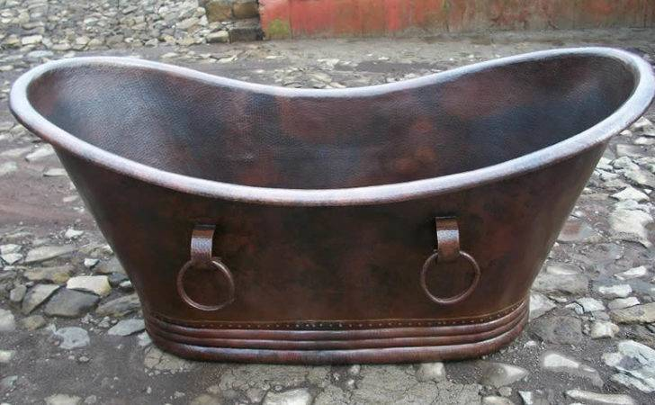 Copper Bath Tub Custom Made Hand Hammered