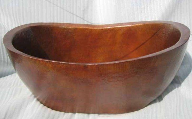 Copper Bathtub Soaking Tub Custom Bath