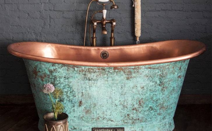Copper Bathtubs Turning Your Bathroom Into Antique Paradise