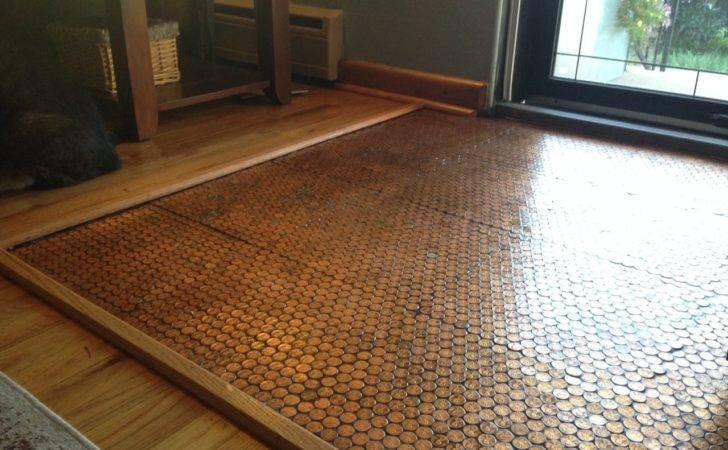 Copper Penny Floor Part Sealing Pennyfloor