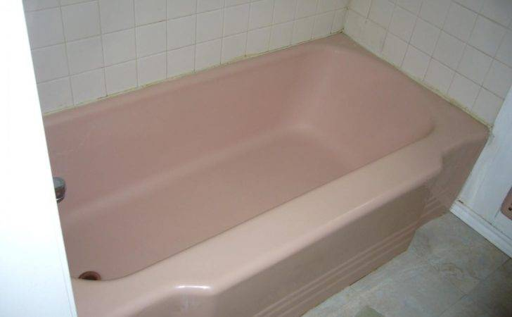 Coral Colored Tub Outdated