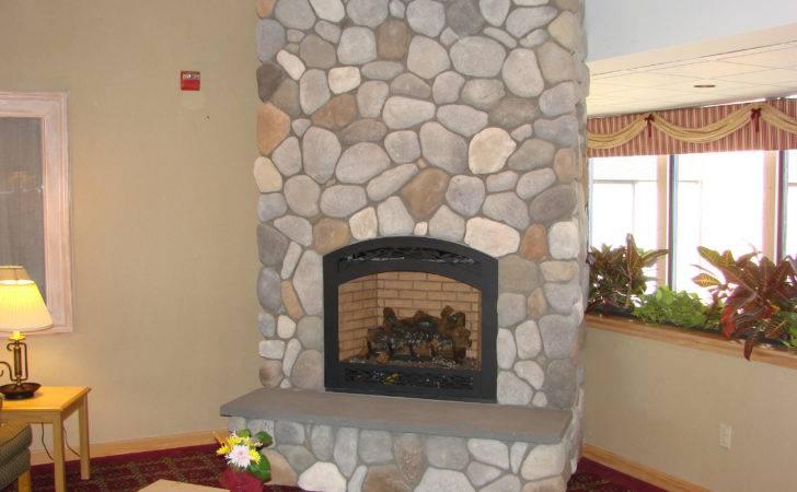 Corinthian Granite Fireplace
