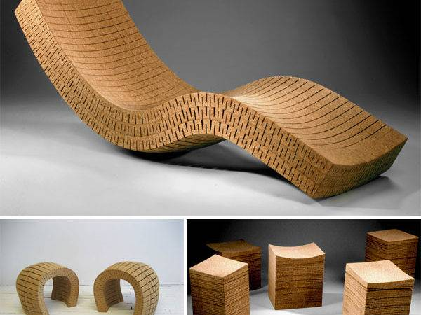 Cork Furniture Daniel Michalik Wine Design