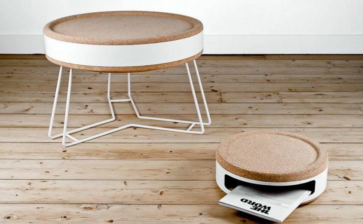 Cork Furniture Made Jonathan Honvoh Rodrigue