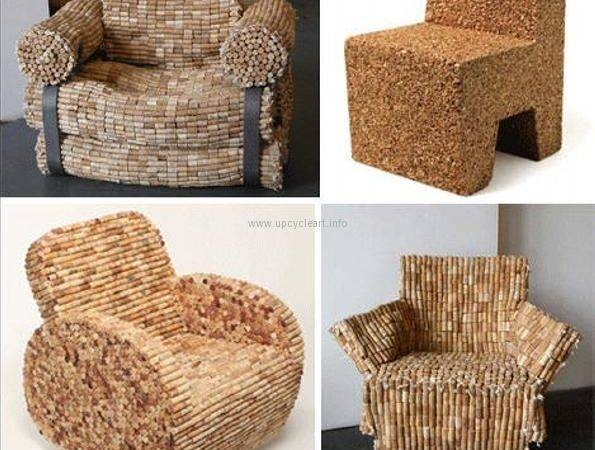 Corks Cork Chairs Crafts Furniture Stopper