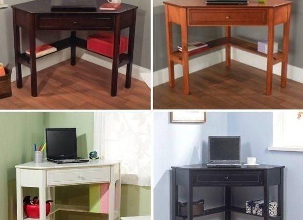 Corner Computer Desk Home Dorm Kids Student Bedroom Furniture Laptop