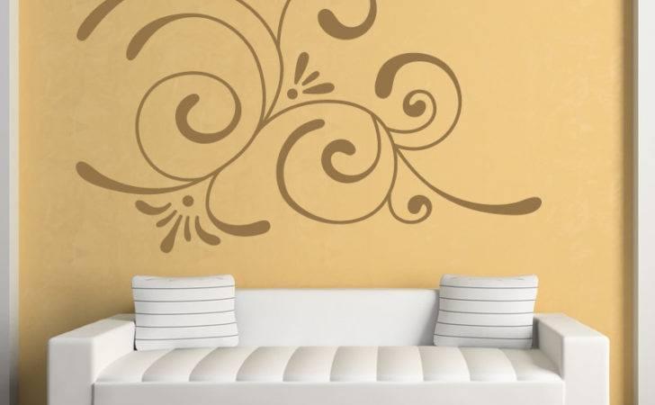 Corner Embellishment Wall Art Sticker Decal Transfers Ebay