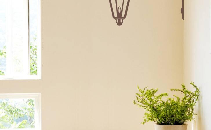 Corner Lamp Wall Decal