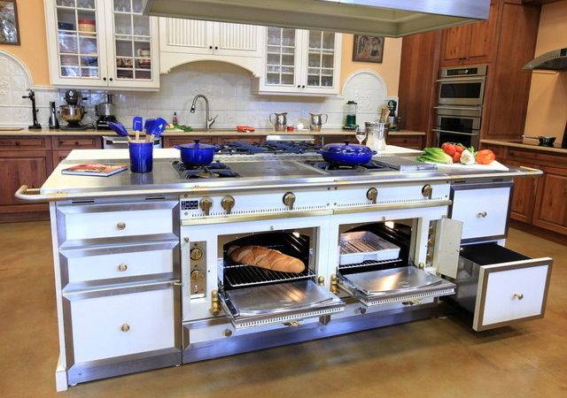 Cornue Custom Handcrafted Range Ovens Traditional Kitchen