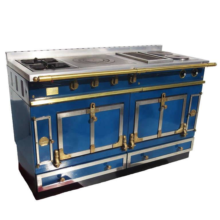 Cornue France Enameled Custom Stove Stdibs