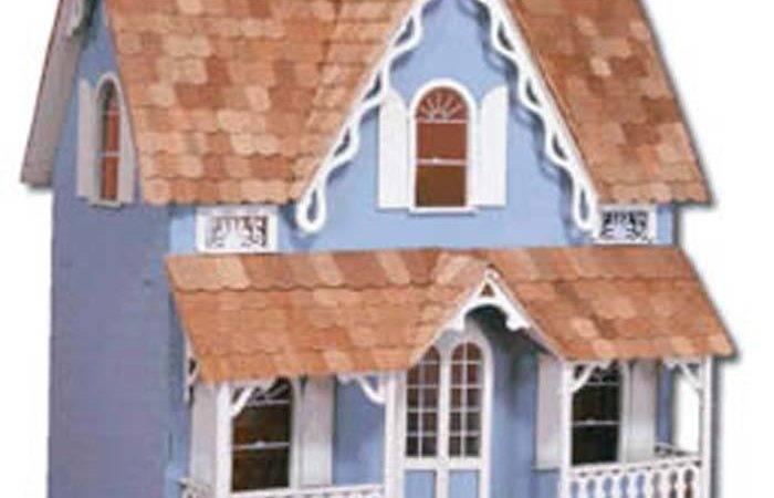 Corona Concepts Greenleaf Wooden Dollhouse Kit Ebay