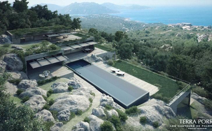 Corsican Mountain Villas Visualized