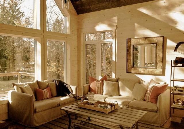 Cottage Cabin Rustic Room Ottawa Stylehaus Interiors
